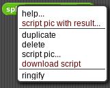 scriptWithResult