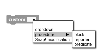 snapdropdown
